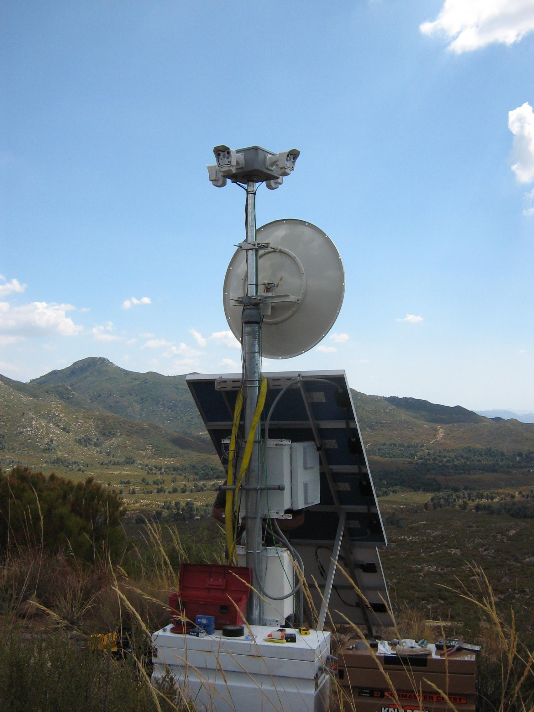 Wildfire Monitoring