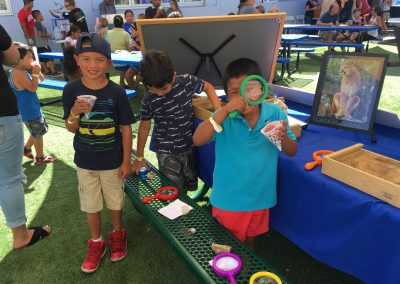 Yound BOYS & GIRLS CLUB  members enjoy SMER booth