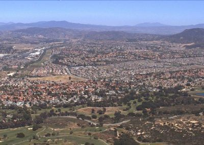 HP WREN view of City of Temecula from highlands area of SMER