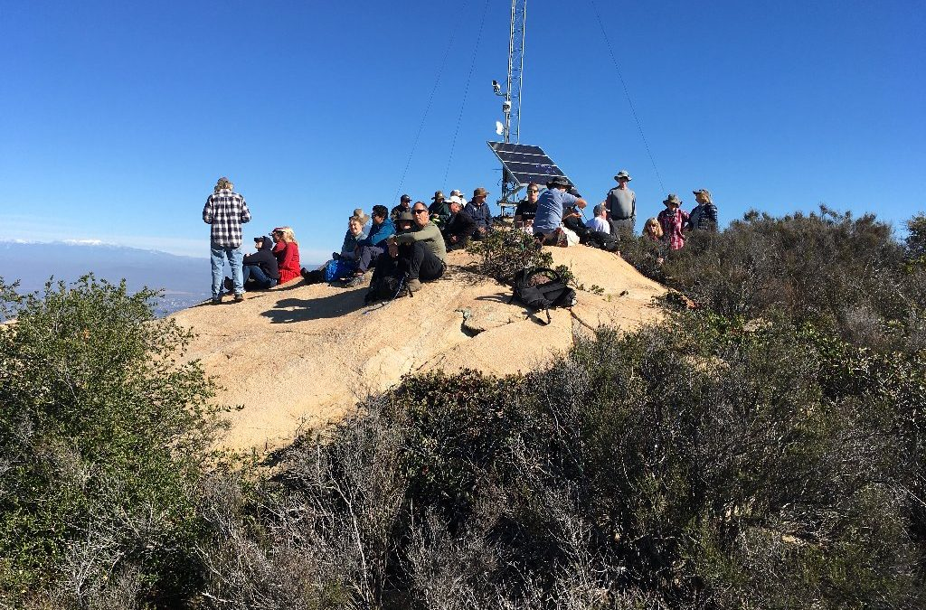 First Docent-led Hike of 2020 Santa Margarita Ecological Reserve